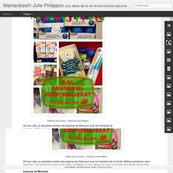 Mamanbooh! Julie Philippon: Noël: un bac sensoriel pour 100 $, c'est possible! #DéfiWalmart