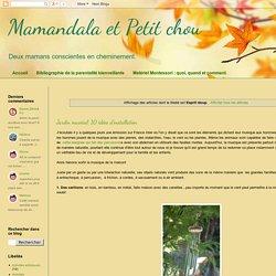 Mamandala et Petit chou: Esprit récup