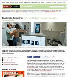 Mammografie-Screening zur Früherkennung von Brustkrebs in der Kritik