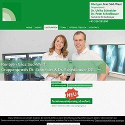 3D Mammographie - Brustdiagnostik, Graz - Röntgen Graz Süd-West