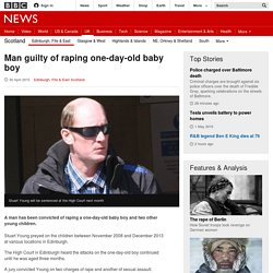 Man guilty of raping one-day-old baby boy - BBC News