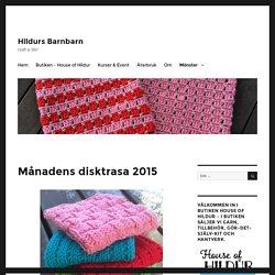 Månadens disktrasa 2015 – Hildurs Barnbarn