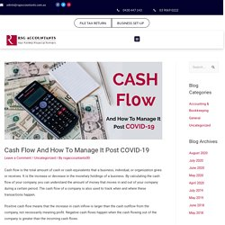 How To Manage Cash Flow During post-COVID 19 - RSGAccountants