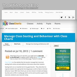Manage Class Seating and Behaviour with Class Charts