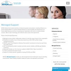 Managed Cloud Support Services