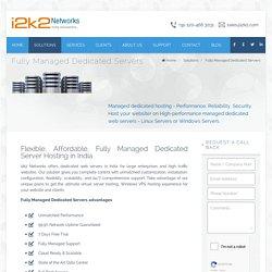 Dedicated Managed Server Hosting - i2k2 Networks
