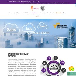 Amazon Manged Web Services