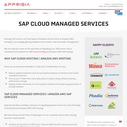 SAP Cloud Managed Services: Get Complete Management of Your SAP Environment