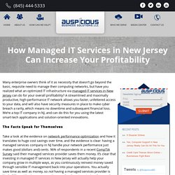 Managed IT Services New Jersey
