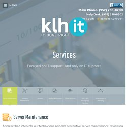 KLH Managed IT Services Minneapolis