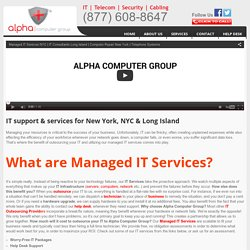 Managed IT Services Provider NYC
