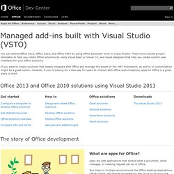 How Do I Videos | VSTO, Visual Studio, Office Development | MSDN