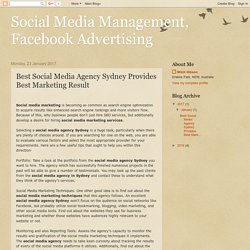 Best Social Media Agency Sydney Provides Best Marketing Result