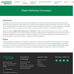 Digital Marketing Campaign Management