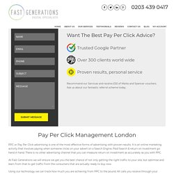 Pay Per Click Management & PPC Advertising London