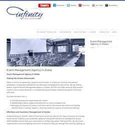 Event Management Agency in Dubai