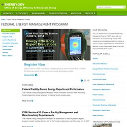 Federal Energy Management Program: Sample Documents for Power Purchase Agreements