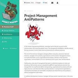 Project Management AntiPatterns