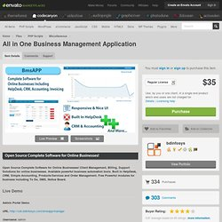 All in One Business Management Application