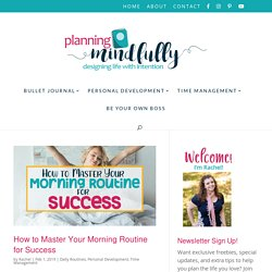Time Management Archives - Planning Mindfully