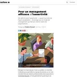 L'assertivité - Efficacité du Mngt