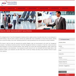 Company Offering Travel Risk Management Solutions - Asia Medical Assistance