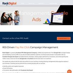 Google AdWords & Facebook Ads Expert - Rank Digital