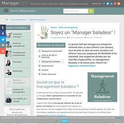 Le management baladeur... de quoi s'agit-il ? Bénéfices et mise en oeuvre