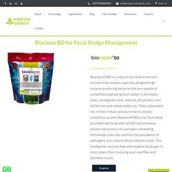 Bioclean BD for Fecal Sludge Management, Biodigester Tank Enzymes