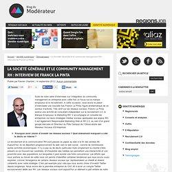La Société Générale et le community management RH : interview de Franck La Pinta