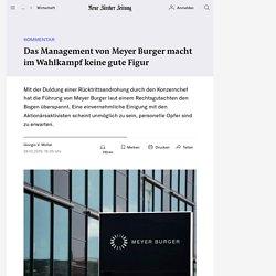 Das Management von Meyer Burger macht im Wahlkampf keine gute Figur