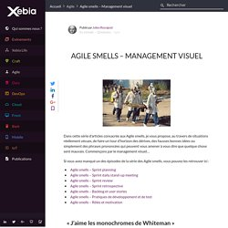 Agile smells – Management visuel