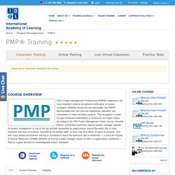 Project Management Training in Kolkata, PMP Certification