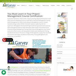 You Must Learn in Your Project Management Course Certification
