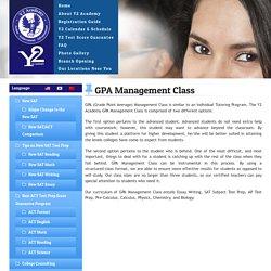 GPA Management Class, SAT Prep Programs USA