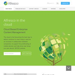 Download and Alfresco Online Trial