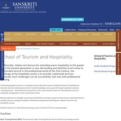 Hotel Management Colleges in Delhi NCR