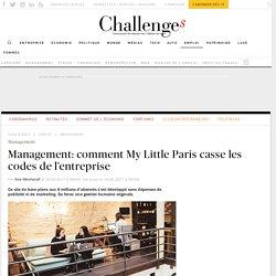Management: comment My Little Paris casse les codes de l'entreprise - Challenges.fr