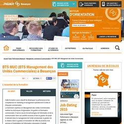 BTS MUC Management Commercial - Pigier Besançon