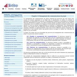 Chapitre 10. Management des communications du projet