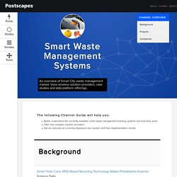 2016 Guide to Smart Waste Management Companies and Solutions