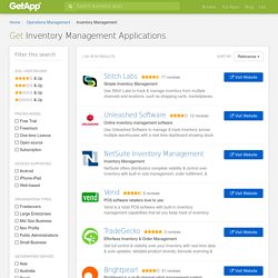 Best Inventory Management Software Comparison