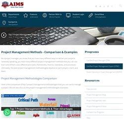 Top 7 Project Management Methods - Comparison & Examples