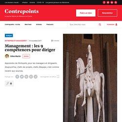 Management : les 9 compétences pour diriger