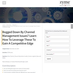 Be Competitive by Properly Managing Channels in Business