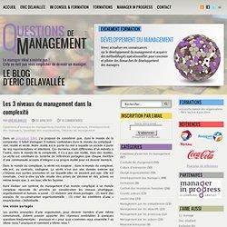 Les 3 niveaux du management dans la complexité