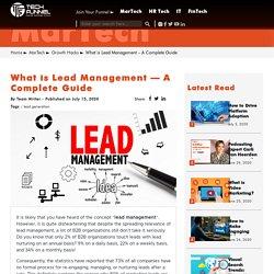 Lead Management - A Comprehensive Guide