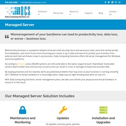 Glendale #1 Server Management Services by Daily Computing Solutions