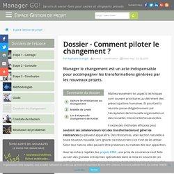 Management et conduite du changement : enjeux et outils