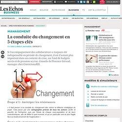 Management : la conduite du changement en 5 étapes clés